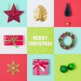 Дизайн знамени праздника рождества Стоковые Изображения