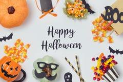 Дизайн знамени праздника хеллоуина Стоковое Изображение RF