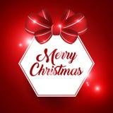 Дизайн знамени рождества Стоковые Фотографии RF