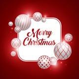 Дизайн знамени рождества Стоковое Фото