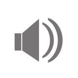 Дизайн значка диктора бесплатная иллюстрация