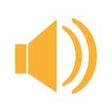 Дизайн значка диктора иллюстрация вектора