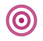 Дизайн значка цели бесплатная иллюстрация