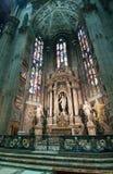 Собор в Милане Стоковое Изображение
