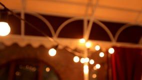 Дизайн интерьера декоративное освещение Дневные света в ресторане акции видеоматериалы