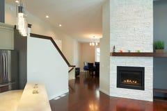 Дизайн интерьера самомоднейшей живущей комнаты Стоковое Изображение RF