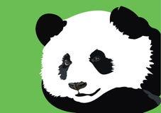 Дизайн искусства вектора панды следуя иллюстрация вектора