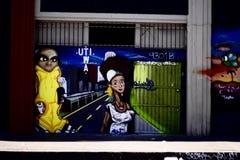 Дизайн искусства улицы Стоковое Изображение