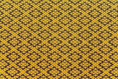 Дизайн искусства цветка золота тайский Стоковые Фото