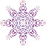 Дизайн иллюстрации мандалы этнический индийский Стоковое фото RF