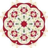 Дизайн иллюстрации мандалы этнический индийский Стоковые Изображения