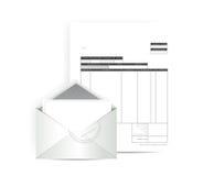 Дизайн иллюстрации почты получения фактуры Стоковое Изображение RF