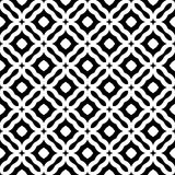 Дизайн картины вектора черно-белый безшовный Стоковые Изображения