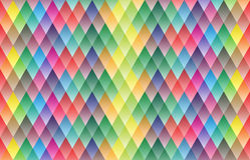 Дизайн картины красочной предпосылки геометрический Стоковые Изображения