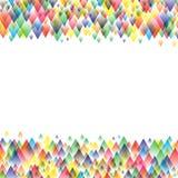 Дизайн картины красочной предпосылки геометрический Стоковая Фотография RF