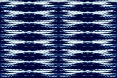 Дизайн картины повторения текстуры батика современный Стоковая Фотография