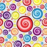 Дизайн картины предпосылки круга свирли Стоковое фото RF