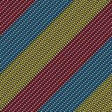 Дизайн картины ткани безшовный для женщины носит Стоковые Изображения