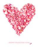 Дизайн карточки дня валентинки Стоковое Фото