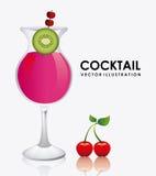 Дизайн коктеиля иллюстрация штока