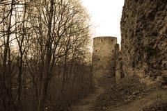 Дизайн крепости Koporskaya античный Стоковые Фото