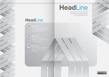 Дизайн крышки годового отчета корпоративного бизнеса Стоковое Изображение RF
