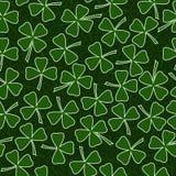 Дизайн крышки поздравительной открытки вектора дня St. Patrick Стоковое Фото