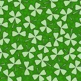 Дизайн крышки поздравительной открытки вектора дня St. Patrick Стоковое Изображение RF