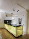 Дизайн кухни Стоковые Изображения