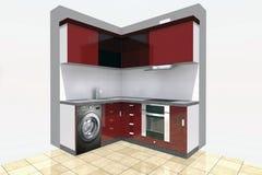 Дизайн кухни Стоковые Изображения RF