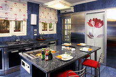 Дизайн кухни стоковые фото