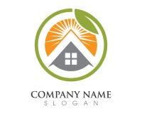 Дизайн логотипа свойства и конструкции Стоковое Фото