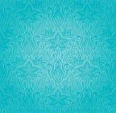 Дизайн мандалы бирюзы декоративный богато украшенный иллюстрация штока