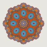 Дизайн мандалы Мандала, круговой орнамент Стоковые Фотографии RF