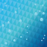 Дизайн моря background card congratulation invitation Красочная иллюстрация, вектор Стоковые Фотографии RF