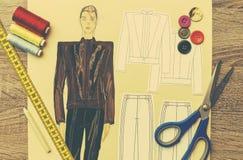Дизайн моды Стоковое Изображение RF