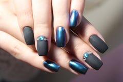 Дизайн ногтя Стоковые Изображения