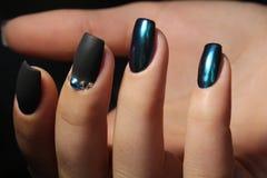 Дизайн ногтя Стоковое Изображение RF