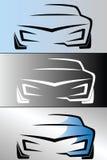 Дизайн логотипа автомобиля Стоковые Фото