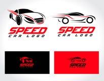 Дизайн логотипа автомобиля Стоковые Изображения RF