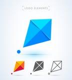 Дизайн логотипа змея вектора абстрактный Стоковое фото RF