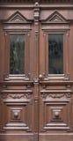 Дизайн дома архитектуры двери старый вписывает детали Стоковое Изображение RF
