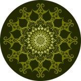 Дизайн орнамента мандалы Стоковое Изображение RF