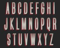 Дизайн оформления смелого серого цвета красный красочный бесплатная иллюстрация