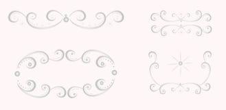 Дизайн оформления картин. Иллюстрация вектора Стоковые Изображения RF
