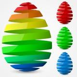 Дизайн пасхального яйца Стоковое Фото