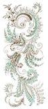 Дизайн Пейсли флористический Стоковая Фотография RF