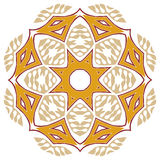 Дизайн Пейсли флористический Стоковое Изображение RF