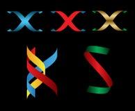 Дизайн письма иллюстрации 3D вектора Стоковое Изображение