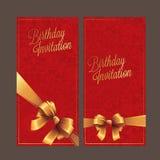 Дизайн поздравительой открытки ко дню рождения Стоковые Изображения RF